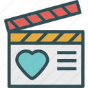 cutscene, heart, love, romance icon