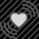 heart, love, romance, signal