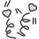 heart, love, party, romance icon