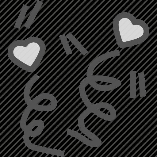 heart, love, party, romance icon