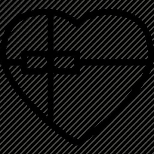 chocolatebox, heart, love, romance icon