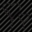 love, happy, heart, balloon, romantic