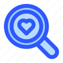 magnifier, search, find, magnifying, love