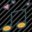 heart, love, music, romance