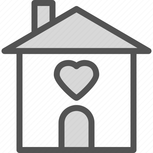 heart, love, ouse, romance icon