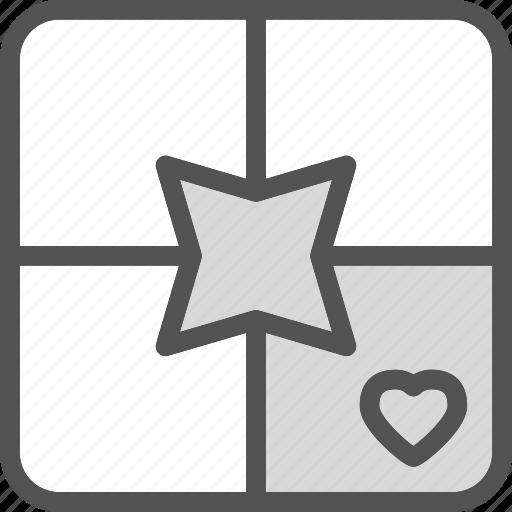 heart, love, resent, romance icon