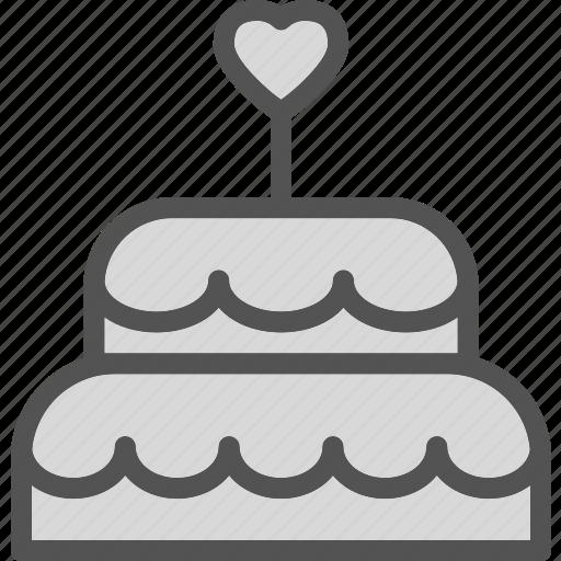 bride, cake, edding, mariage icon