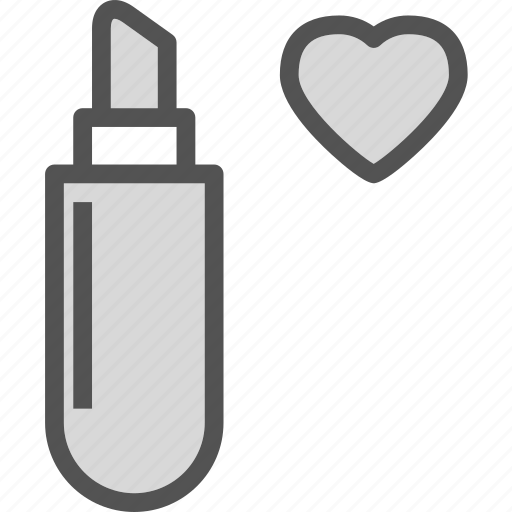heart, ipstick, love, romance icon