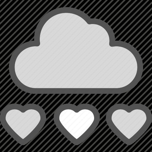 heart, loud, love, romance icon