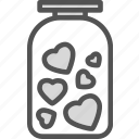 ar, heart, love, romance icon