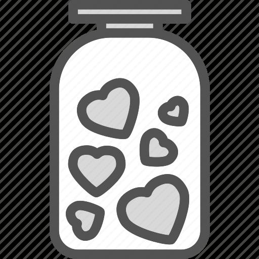 ar, heart, love, romance icon