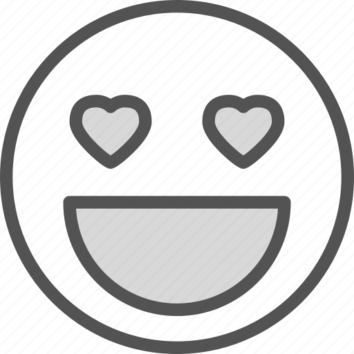 heart, love, moticon, romance icon