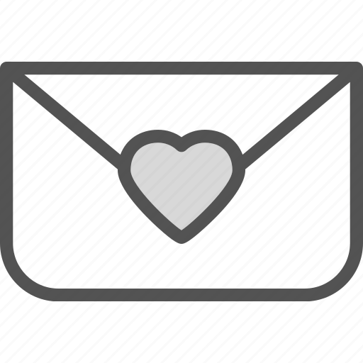 heart, love, nvelopemail, romance icon