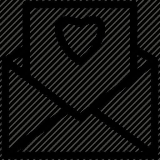 envelope, feelings, letter, love, lover, valentines icon