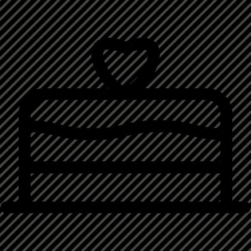 cake, love, wedding, wedding cake icon