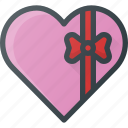 celebration, chokolate, day, gift, heart, love, romantic icon