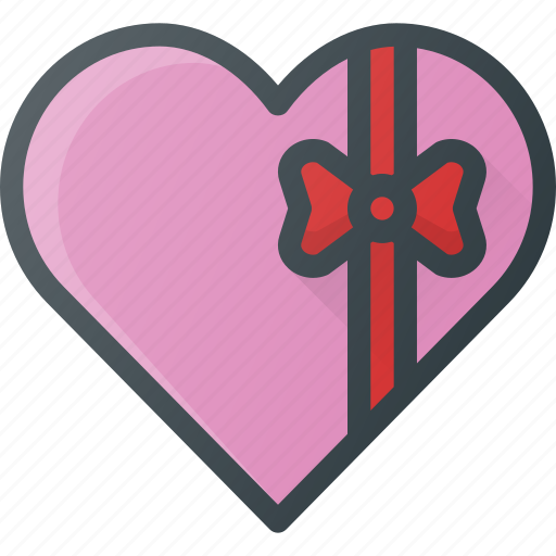 celebration, chokolate, day, gift, heart, love, romantic icon