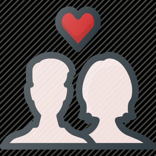 celebration, couple, day, in, love, romantic icon
