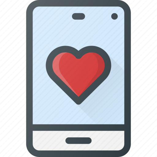 Love, message, mobile icon - Download on Iconfinder
