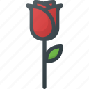 flower, rose, spring icon