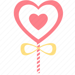 bookmark, favorite, favorites, heart, like, love, twisted candy icon