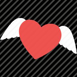 angel, bookmark, like, love, romance, romantic, wedding icon