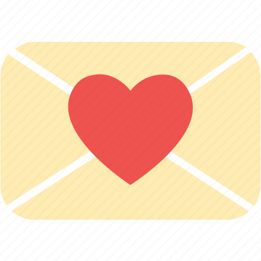 envelope, heart, love, mail, message, valentine icon