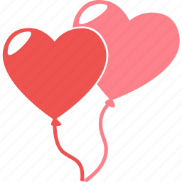 balloon, celebration, love, party, romance, valentine, wedding icon