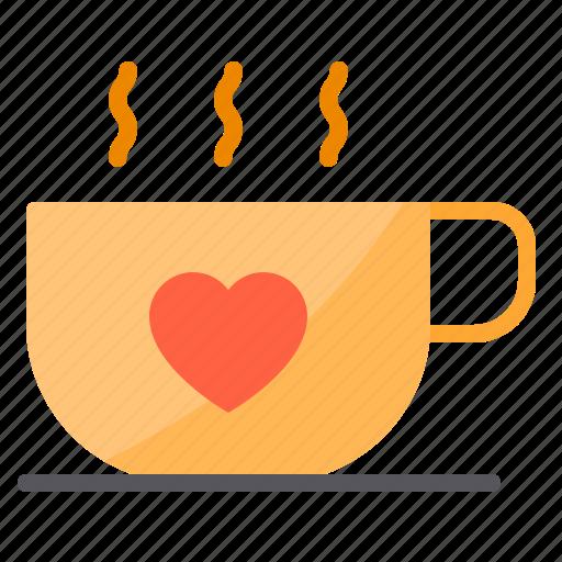01e61876a Coffee, couple, design, heart, love icon