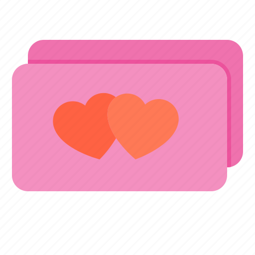 card, couple, design, heart, love icon