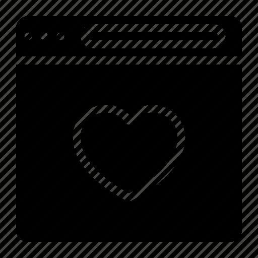 couple, design, heart, love, website icon