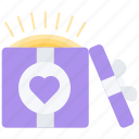 box, day, gift, love, relationship, valentine