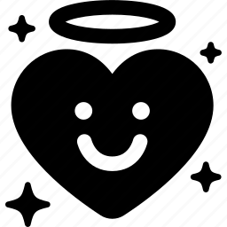 angel, cupid, heart, like, love, valentine icon
