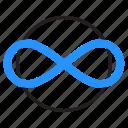 eight, eternity, infinity, loop