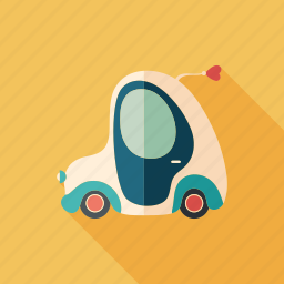 cab, car, cart, love, machine, retro, transport icon