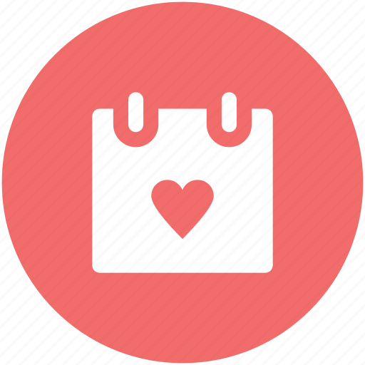 dating, february, greeting, heart calendar, love inspiration, love theme, valentine day icon