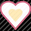 hear, love, romantic, two icon