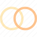 keys, marriage, ring, rings icon