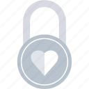forever, lock, locked, romance icon
