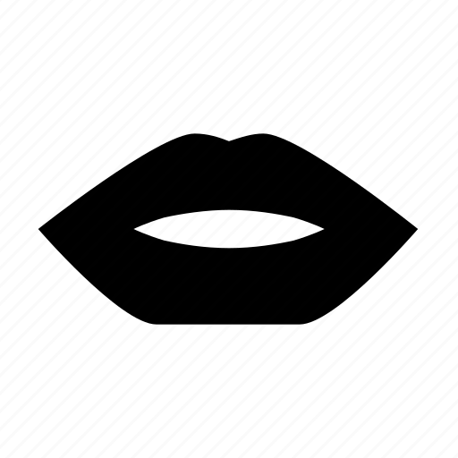 kiss, lips, love, romance, woman lips icon