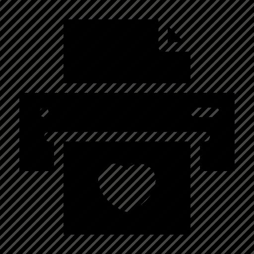 cursor, marker, print, printer icon