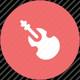bass, frets, guitar, jazz, melody, music instrument, ukulele icon