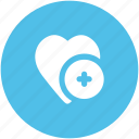 add sign, infographic element, like, love, love heart, love sign, passion icon
