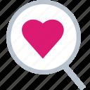 fine, heart, love, romance icon
