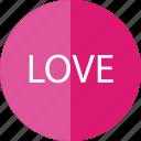 love, romance, romantic, valentine icon