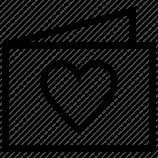 ecard, greeting card, love card, valentine card, valentine greeting, wishing card icon