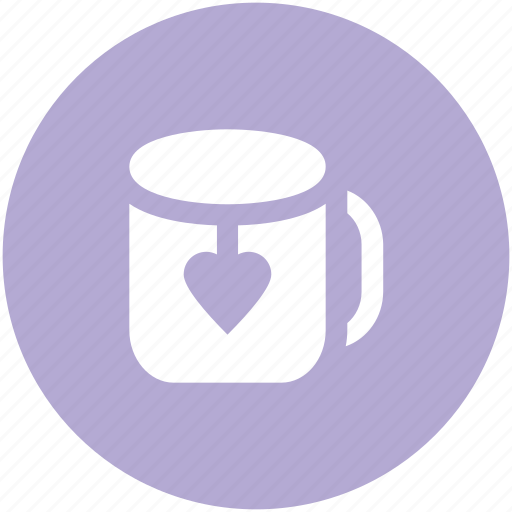 heart teabag, love theme, passion, tea, tea love, tea mug, valentine day icon