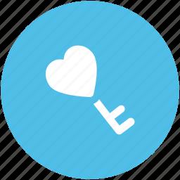 emotion, feelings, heart key, love, love inspirations, love key, romance icon