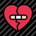 broken, emotional, heart, love, sad
