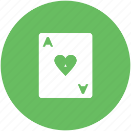 blackjack card, casino, gambling, game, heart, playing card, poker card icon